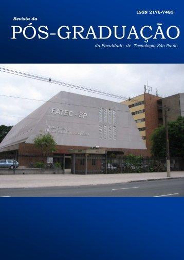 Revista da Pós-Graduação nº 1 - Fatec