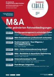 M&A unter geänderten Rahmenbedingungen - Willheim | Müller