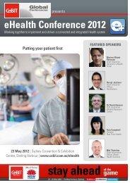 eHealth Conference 2012 - CeBIT Australia