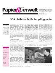 Papier Umwelt 3/09 - FUPS