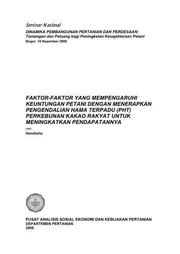 faktor-faktor yang mempengaruhi keuntungan petani - Pusat Sosial ...