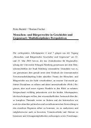 Menschen- und Bürgerrechte in Geschichte und Gegenwart ...