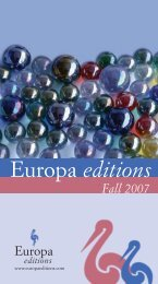 Download (PDF 346 Kb) - Europa Editions