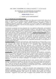 Relazione Andrea Arvalli - Usmi