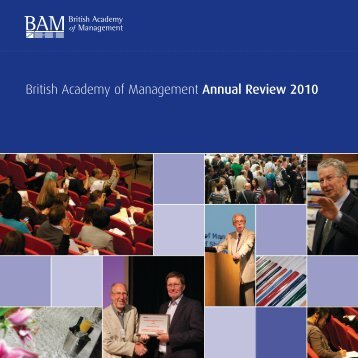 British Academy of Management Annual Review 2010