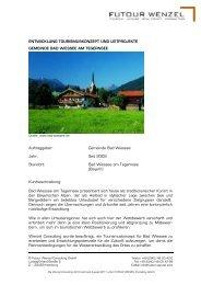 Bad Wiessee am Tegernsee - Wenzel-Consulting Aktiengesellschaft