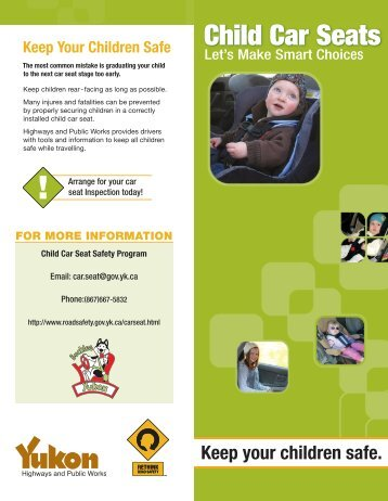 Child Car Seats - Highways and Public Works