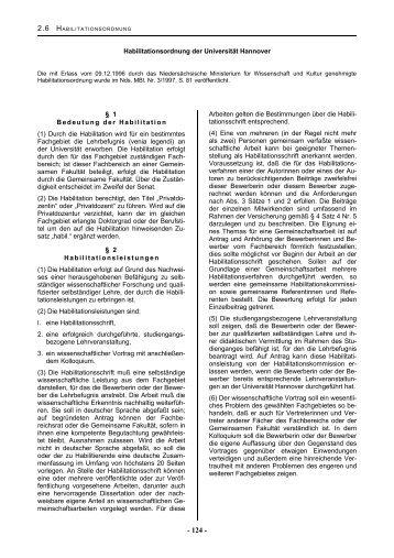 Habilitationsordnung 1996