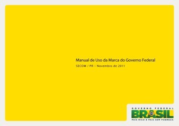Manual de Uso da Marca do Governo Federal - SECOM - Secretaria ...