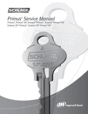 high security cylinders primus key control service manual rh yumpu com Access Hardware Products Window Repair Manual