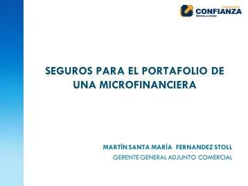 INFORME GERENCIA COMERCIAL - Proyecto de Seguros para la ...