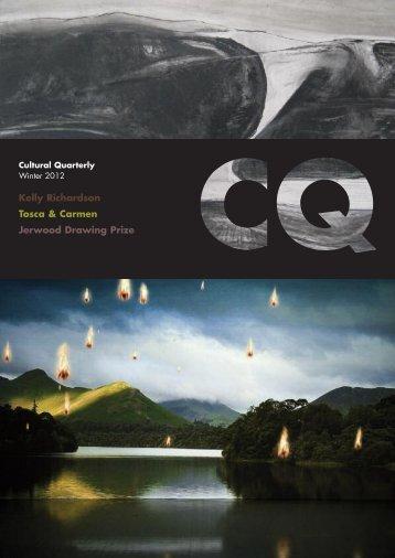 Winter 13 - Cultural Quarterly Online