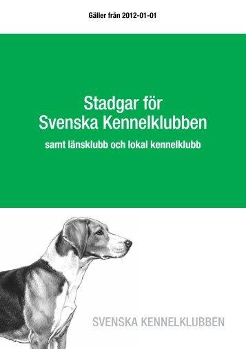 Stadgar för Svenska Kennelklubben