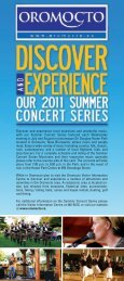 Summer Concert Series 2012 - Town of Oromocto