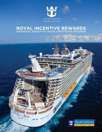 Rewards Brochure (PDF) - Royal Caribbean