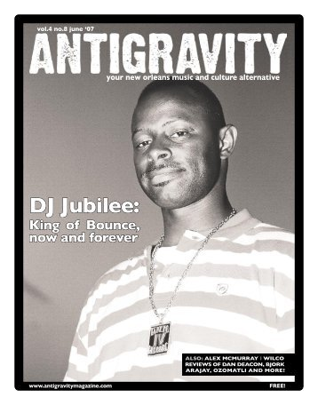 June 2007 (PDF) - Antigravity Magazine