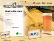 Where to buy Briess extracts - Briess Malt & Ingredients Co.