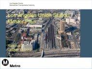 Los Angeles Union Station Master Plan - Rail~Volution