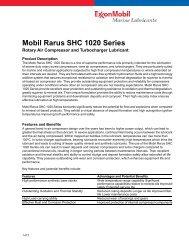 Mobil SHC 600* Series - Salvex