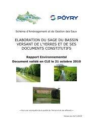 ELABORATION DU SAGE DU BASSIN VERSANT DE L ... - Le Renard