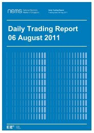 Daily Trading Report 06 August 2011 - EMC