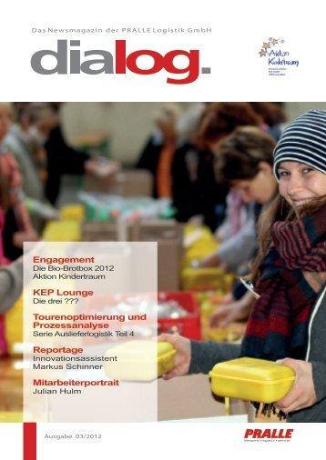 Ausgabe 03 /2012 - PRALLE LOGISTIK GmbH