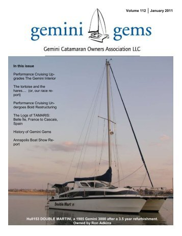 Issue #112, Jan 2011 - Gemini Gems