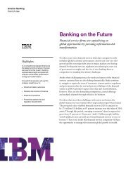 Banking on the Future - IBM