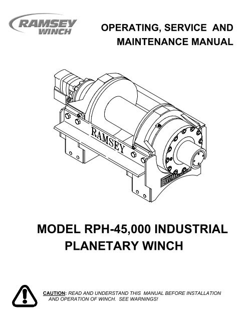 Wiring Diagram For Ramsey 15000 Lb Winch