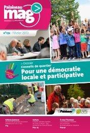Pour une démocratie locale et participative - Ville de Palaiseau