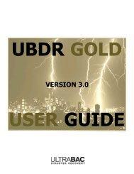 VERSION 3.0 - UltraBac Software