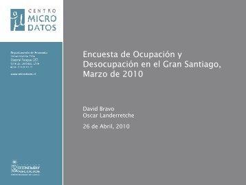 Descargar presentación del Informe de Empleo - Mercado del Trabajo