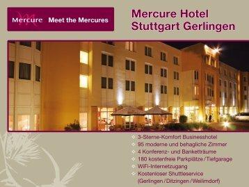 Mercure Hotel Stuttgart Gerlingen Meet the Mercures - ifb