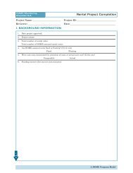 Rental Project Completion Checklist - HUD