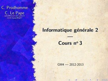 Cours 3 et 4 - IA - LIP6