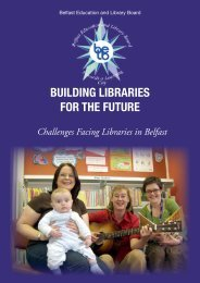 Building Libraries for the Future - Belfast Education & Library Board