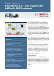 Denox 2.2 - Bosch Automotive Technology