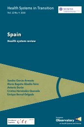 Spain Health System Review