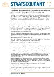 Koninkrijk der Nederlanden - College bescherming ...
