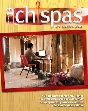 Revista: Chispas No.13 - conafe.edu.mx