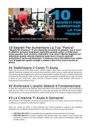 """10 Segreti Per Aumentare La Tua """"Panca"""" #1 ... - Ultimate Italia"""