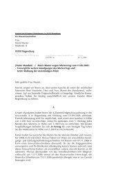 Frau Maria Muster Musterstr. 8 93000 Regensburg [Name Mandant ...