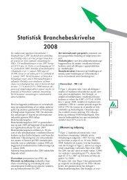 Statistisk Branchebeskrivelse 2008 - Foreningen af Rådgivende ...