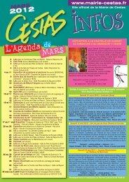 L'Agenda - Mairie de Cestas