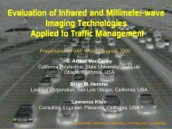Evaluation Of Infrared And Millimeter-wave Imaging - Cal Poly San ...