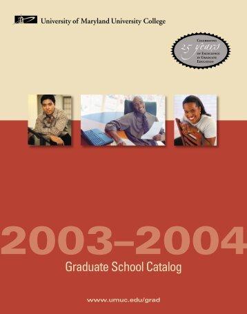 A+B. Intro_SJ.1 - University of Maryland University College
