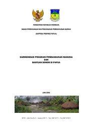 harmonisasi program pembangunan manusia dan bantuan ... - UNDP