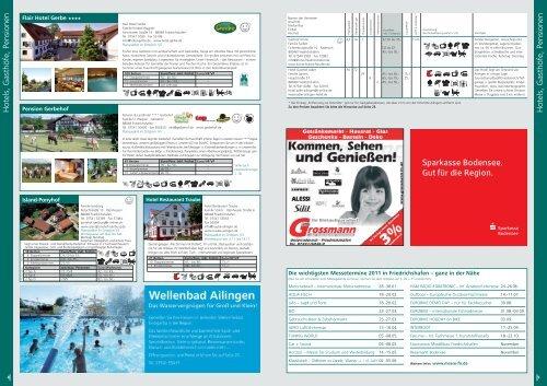 Gastgeberverzeichnis Ailingen 2011 - Friedrichshafen