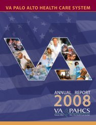 VA Palo Alto Health Care System - US Department of Veterans Affairs