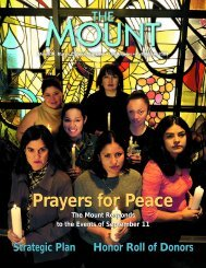 Fall/Winter 2001 - Mount St. Mary's College